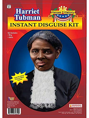 Forum Novelties Women's Heroes In History Harriet Tubman Instant Disguise Kit, Multi, One Size - http://coolthings.us