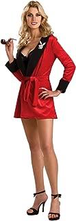 Playboy Secret Wishes Girlfriend Robe, Red Costume