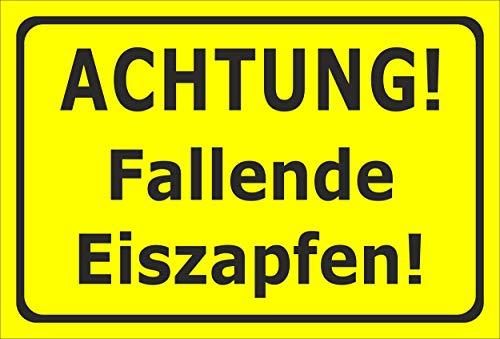 Aufkleber Fallende EIS-zapfen - 15x10cm – 20 VAR S00018-173-C