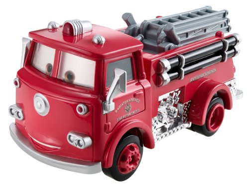Cars - Série Deluxe - Méga Véhicule - Rouge - Véhicule Miniature - Voiture