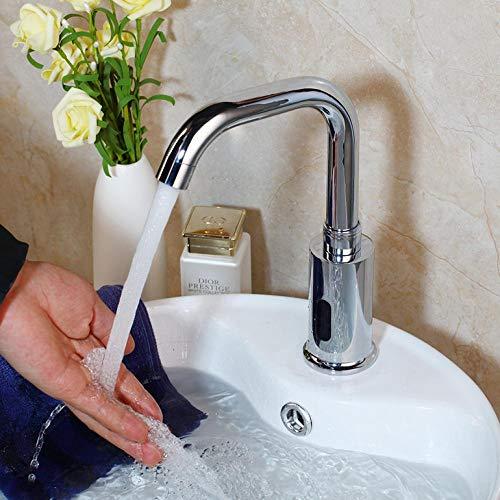 Cuarto de baño Grifos automáticos con sensor táctil libre Cromo Ahorro de...