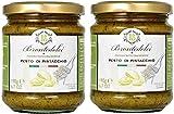 2 Vasetti - Pesto di Pistacchio - squisita preparazione al 55% di Pistacchi di Sicilia - 2x190g