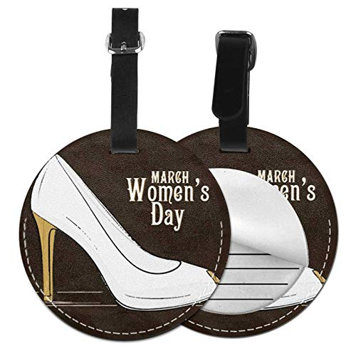 Luggage Tags Women Day 8th March Suitcase Luggage Tags Business Card Holder Travel Id Bag Tag