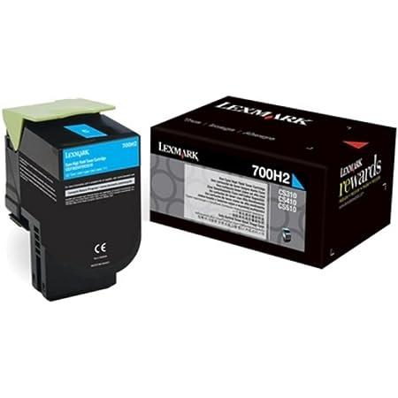 Lexmark 70c2xc0 Original Toner 1er Pack Bürobedarf Schreibwaren