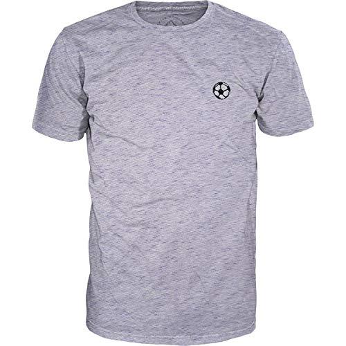 Alprausch Herren Tschütteler T-Shirt, Blue Melange