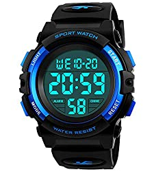 in budget affordable Digital clocks for children, sports waterproof LED clocks for boys, alarm clocks for boys and girls …