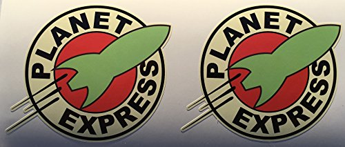 SBD Decals 2 Planet Express Delivery Die Cut Stickers