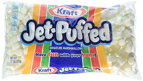 Kraft Jet Puffed Mini Marshmallows 10 Ounce Bag Pack of 2