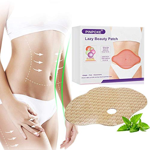 Slimming Patch, Fettverbrennung Slim Patch, Abnehmen Patch, Tighten Slimming Patches, Weight Loss Sticker, Anti Cellulite & Fat Burning Quick für Bierbauch, Eimer Taille, Bauchfett Taille,20 Stück