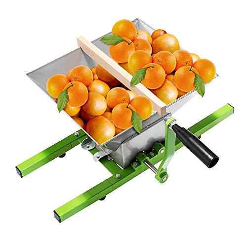 UISEBRT Obstmühle Apfel 7 Liter Apfelpresse Obsthäcksler Maischemühle Obstpresse