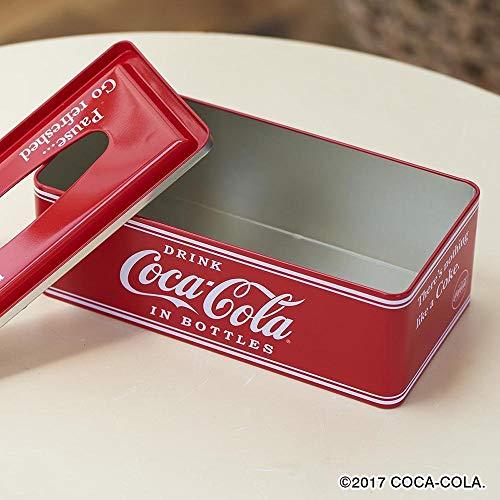 コカコーラ(Coca Cola) ティッシュケース ホルダー 赤 9×26×13cm Coca-Cola ティッシュケース PJ-TC01 0009486-0001