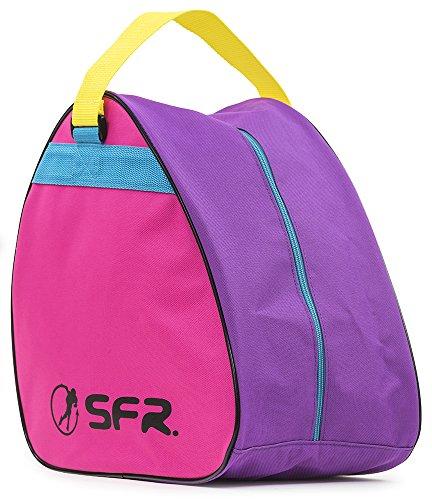 Sfr Skates SFR Vision Skate Bag, Bolsa de tela y de playa Unisex Adulto, (Gris), 24x15x45 cm (W x H x L)