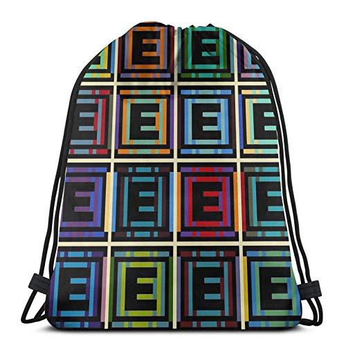 Jard-T and-E Tanks Sport Sackpack Drawstring Backpack Gym Bag Sack