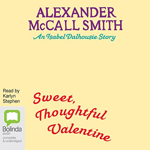 Sweet, Thoughtful Valentine audiobook cover art