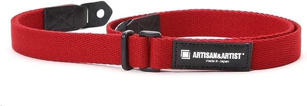 ARTISAN&ARTIST Soft Acrylic Hand Camera Strap ACAM-108 Red