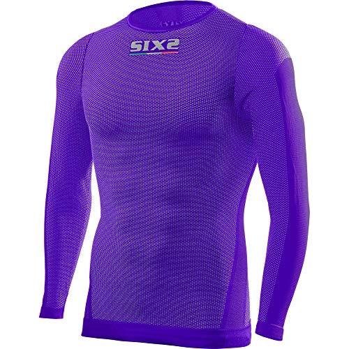 SIX2 Light Blue-M Camiseta MC M//L Unisex Adulto M//L
