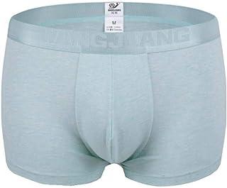 Men's Boxer Briefs Underpants Casual Solid Classic Modern Color Man Cotton Boxer Soft Comfortable Panties 4 Set