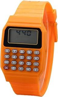 YSoutstripdu - Reloj de pulsera digital cuadrado para niños, mini calculadora portátil, herramienta de exposición para regalo para niños