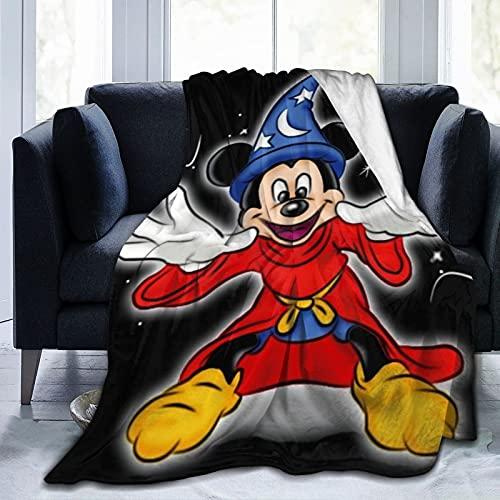 Manta de microfibra ultra suave para todos los santos, de Mickey Minnie Mouse para todas las estaciones, 200 x 150 cm