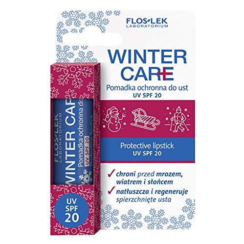 FLOSLEK Lippen-Balsam LSF 20 UV   Wirksamer Schutz vor Frost, Wind und Sonne   Pflege für...