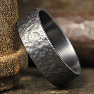 Best hand forged mens wedding band Reviews