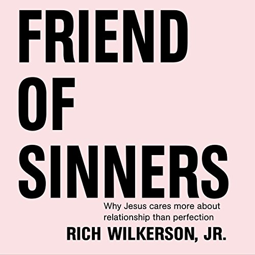 Friend of Sinners audiobook cover art