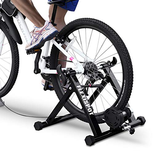 FLEXISPOT Smart Bike Trainer Stand for Indoor Cycling Exercise Magnetic Wheel Equipped