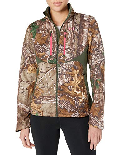 Under Armour UA Coldgear Infrared Scent Control Speed Freek Jacket - Women's Realtree AP-Xtra / Perfection Medium