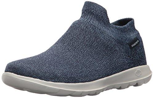 Skechers Damen 15372 Slip On Sneaker, Blau (Navy), 38 EU