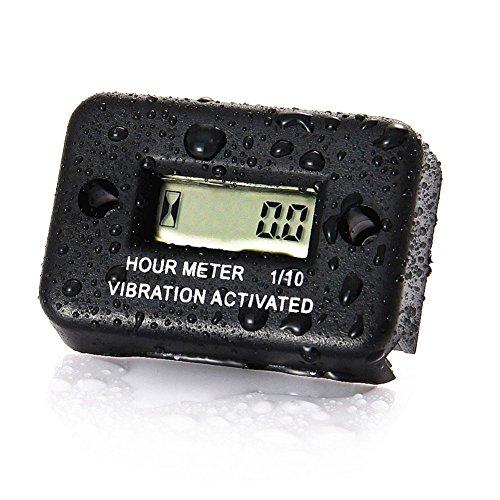 KKmoon, contatore per le vibrazioni del motore, impermeabile, adatto per auto, moto, ATV, motocicletta, barca