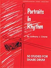 Portraits in Rhythm Book One of the classic snare drum books in print today! This publication presents the reader with challenging and stimulating material for the intermediate and advanced percussion student Contains 50 musical solos and brief perfo...