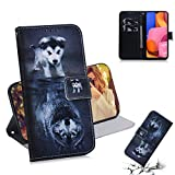 Samsung A10 Case Premium PU Leather Flip Wallet Phone Case