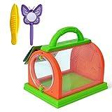 Jaula De Insectos Para Niños Jaula De Observación De Insectos Animales Domésticos Portátiles...