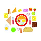 goki 51643 - Küchenspielzeug - Frühstück à la Carte