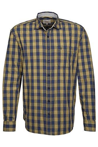 camel active Herren Jean Shark 1/1 Freizeithemd, Grün (Lemon 70), 42 (Herstellergröße:L)