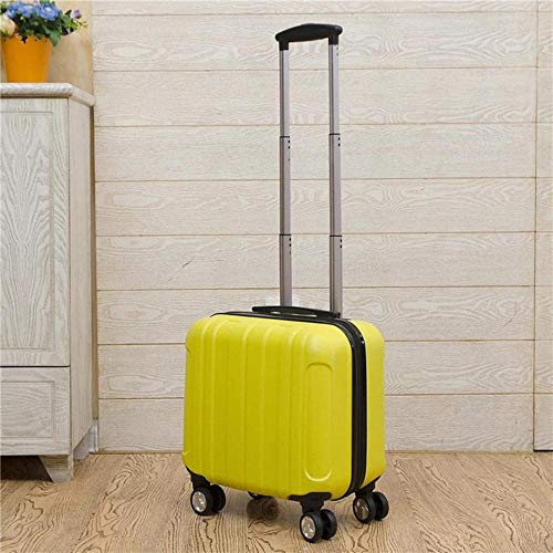 SNV Carry on Travel bag Women Laptop Luggage Stripe Pattern Small Luggage, 18'