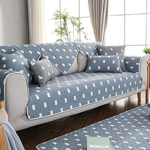 BASA Tuinmeubelhoezen, bankkussens, all-season katoen, vier seizoenen, eenvoudig vier seizoenen, universeel, eenvoudig stofdicht meubilair 90*120cm