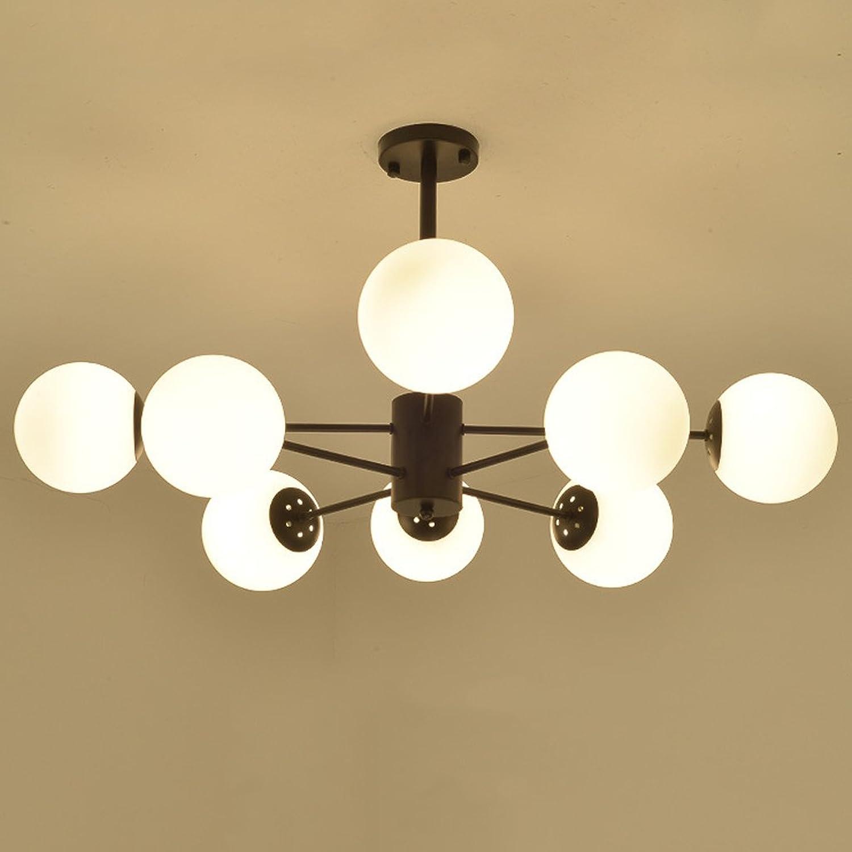 HMJ - Nordeuropischen Kronleuchter kreative einfache moderne Persnlichkeit Kunst Schlafzimmer Esszimmer Wohnzimmer Deckenleuchte moderne Eisen Lampen