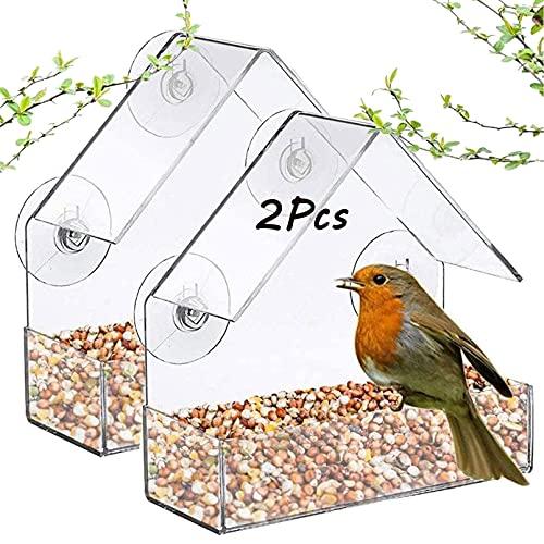 Tfwadmx Window Bird Feeder