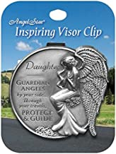 AngelStar 15682 Daughter Guardian Angel Visor Clip Accent, 2-1/2-Inch