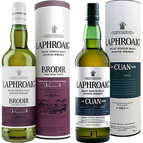 Laphroaig Set BRODIR + an CUAN MOR je 1 X 0,7 Liter