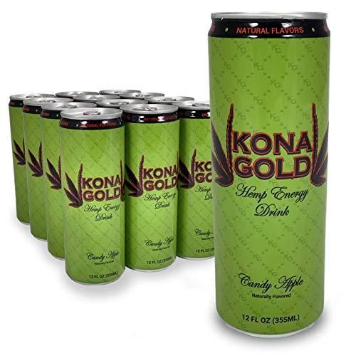 Kona Gold Candy Apple Hemp Energy Drink