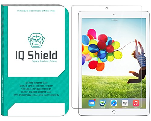 IQShield Tempered Glass Screen Protector for Apple iPad Pro 10.5