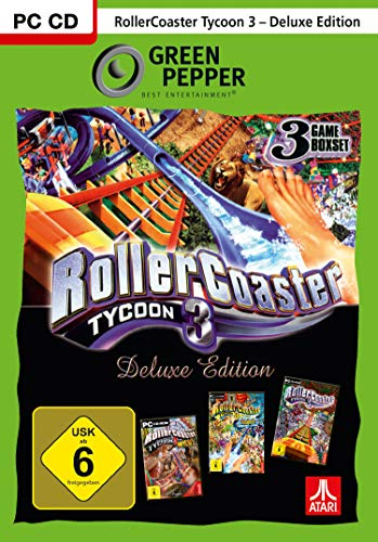 Rollercoaster Tycoon 3 Deluxe - Green Pepper - [PC]