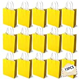 15PCS Color Bolsas Papel Kraft,Bolsas de Papel con Asas de Colores,Bolsa de Regalo Kraft con Asa,Bolsas de Fiesta de...