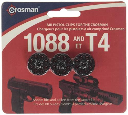 Crosman 488 8-Shot Rotary Clips für T4/1088 Luftpistolen (3er-Pack)
