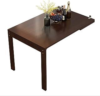 WZH Table de Cuisine Rabattable, Table Pliante multifonctionnelle avec Table de Bar Pliante télescopique Murale