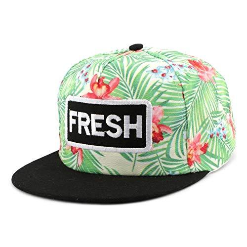 Hip Hop Honour Snapback Fresh Verte et Rouge