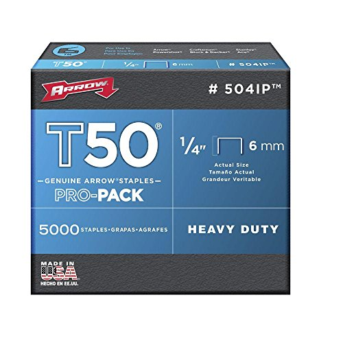 ARROW T50 Staples Box 5000 10mm 3//8in