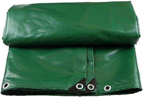6-WUTOLUOHANS Tissu antipluie imperméable bache Camion Parasol Prougeection Solaire bache Bois Hangar de Prougeection Tissu Haute température résistance à la Corrosion